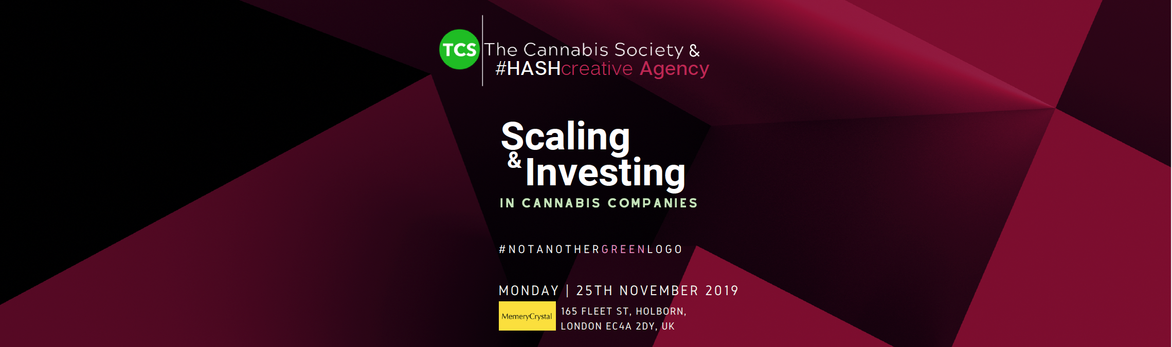 The Cannabis Society Scaling & Investing Conference