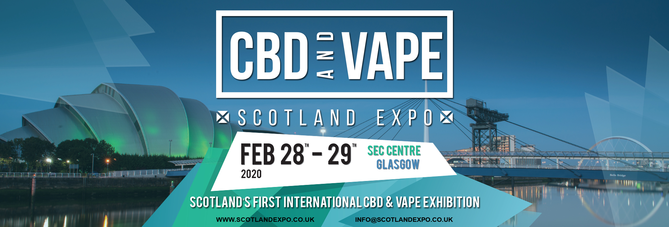 CBD and Vape Scotland Expo 2020