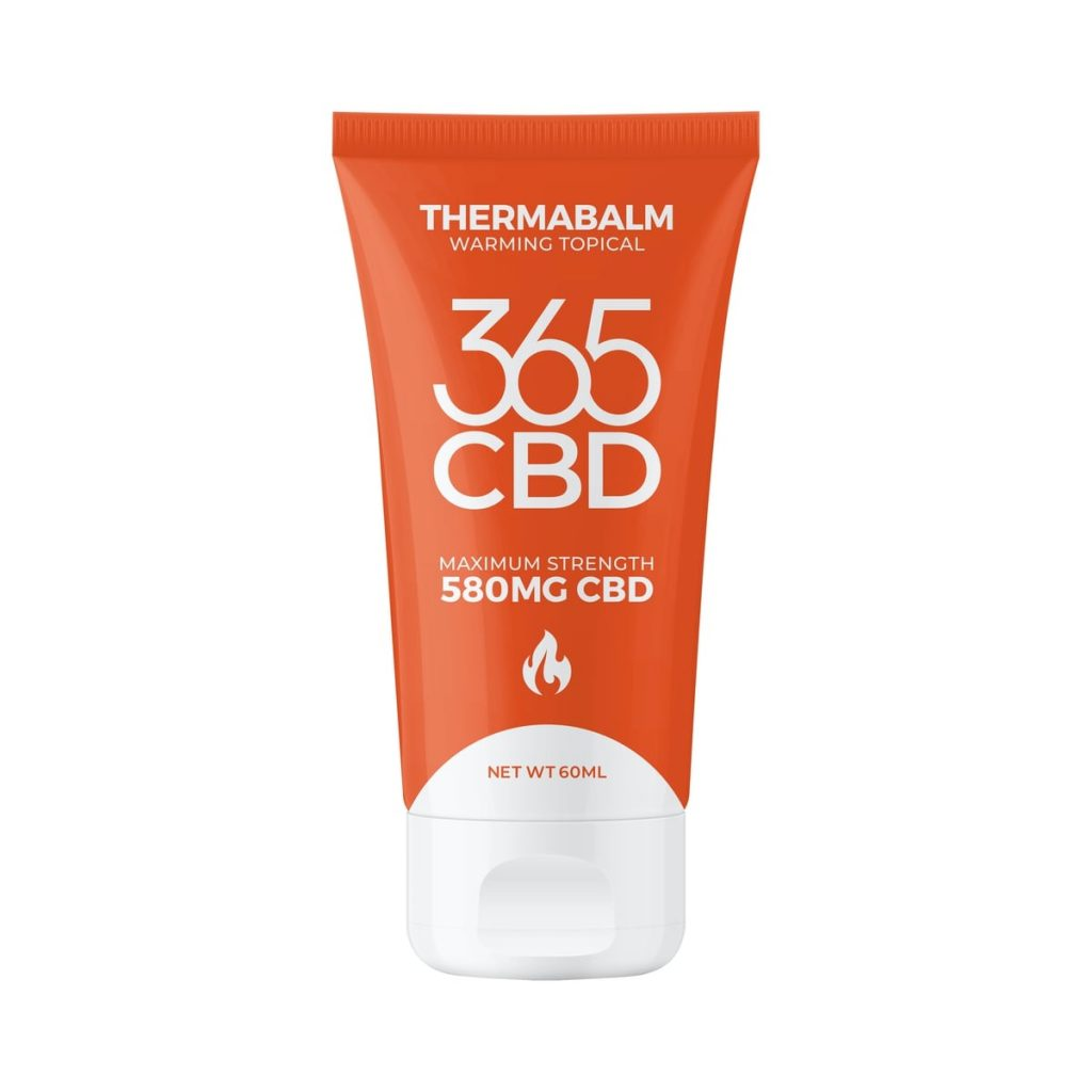 CBD muscle ointment from 365 CBD