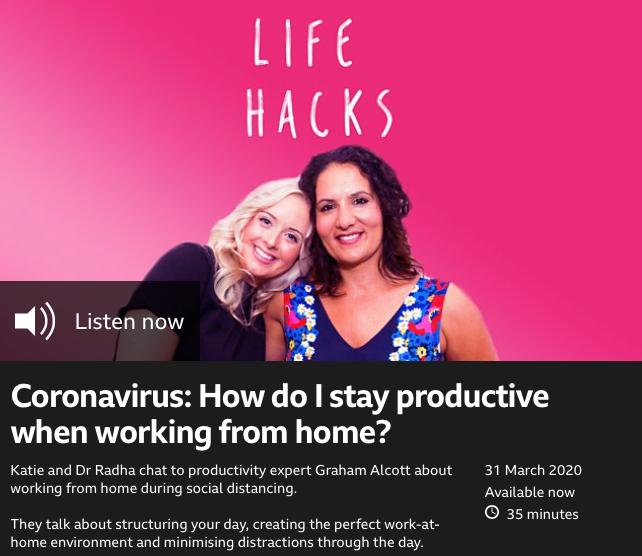 BBC Radio One Life Hacks