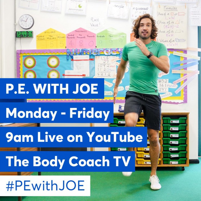 Joe Wicks, The Body Coach