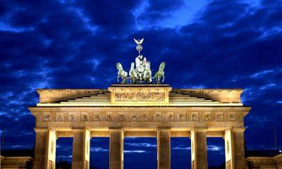 Brandenburg Gate, Potsdam Palace in Berlin
