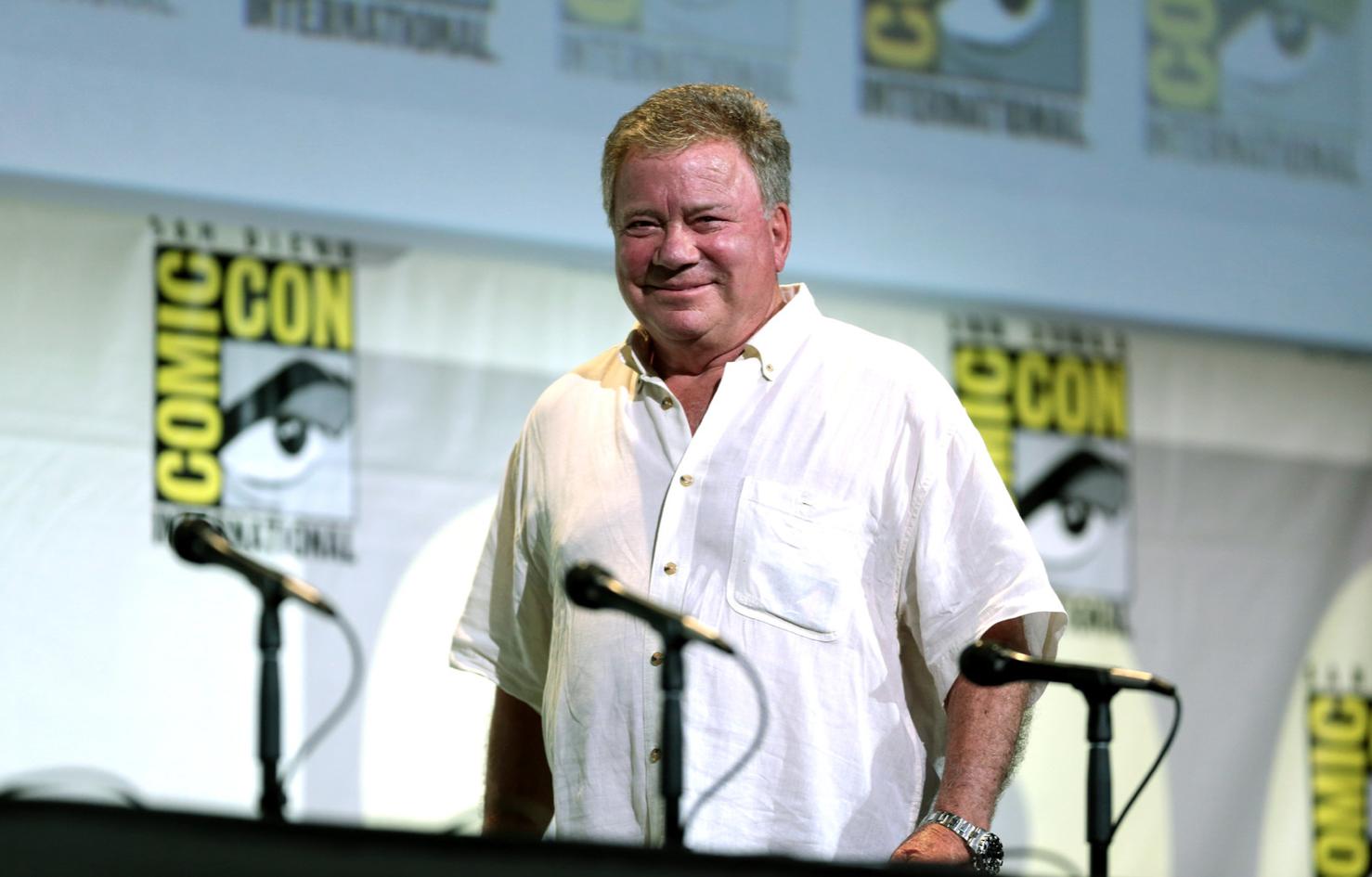 William Shatner at Comic Con