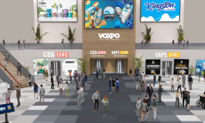 Shot of virtual expo - VOXPO